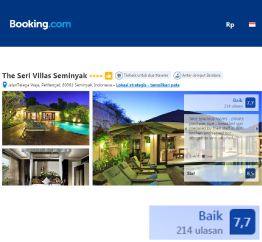 Booking.com - The Seri Villas