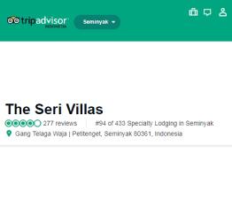 TripAdvisor.com - The Seri Villas