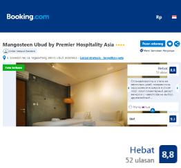 Booking.com - Mangosteen